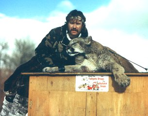 Don With Mountain Lion